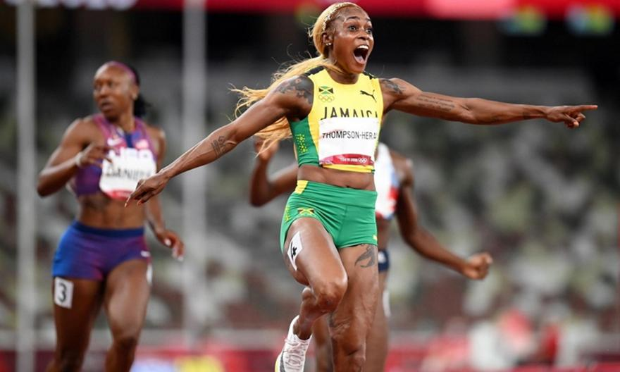 Στίβος: Χρυσή Ολυμπιονίκης η Τόμπσον στα 100μ.