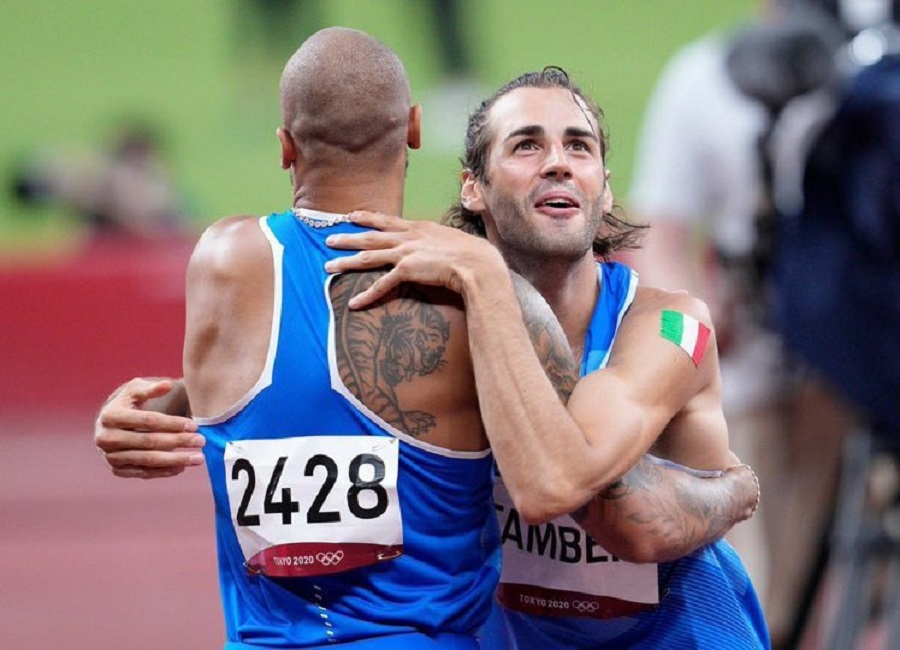 Ολυμπιακοί Αγώνες: Η αγκαλιά των «χρυσών» Ιταλών