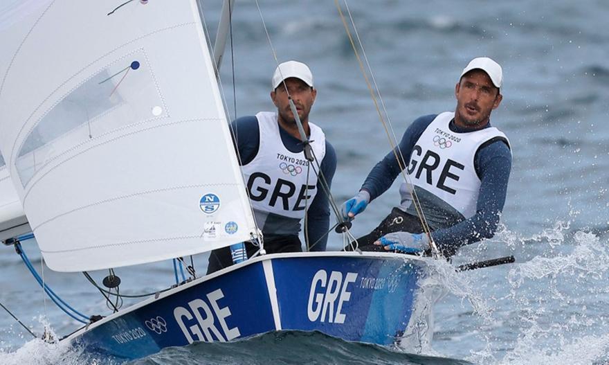 Κέρδισαν δύο θέσεις, φουλ για medal race Μάντης-Καγιαλής
