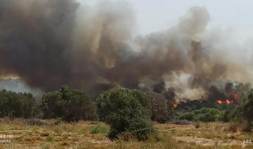 Ρόδος-Πυρκαγιά: Εκκενώνεται η Κοιλάδα των Πεταλούδων