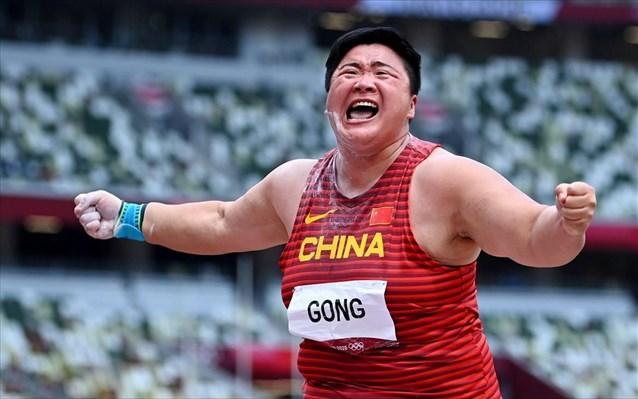 Σφαιροβολία: Η Λιτζιάο Γκονγκ κατέκτησε το χρυσό