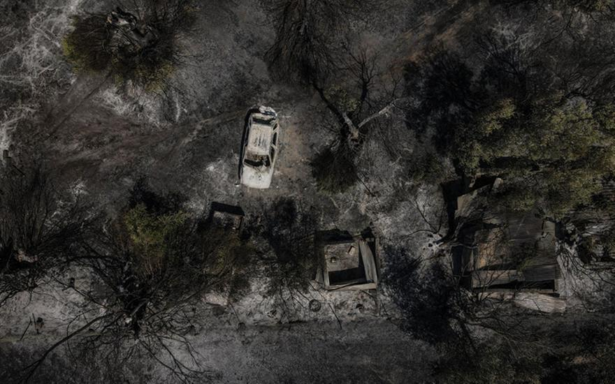 Φωτιά στην Αχαΐα: Η πρώτη εκτίμηση για τις καμένες εκτάσεις