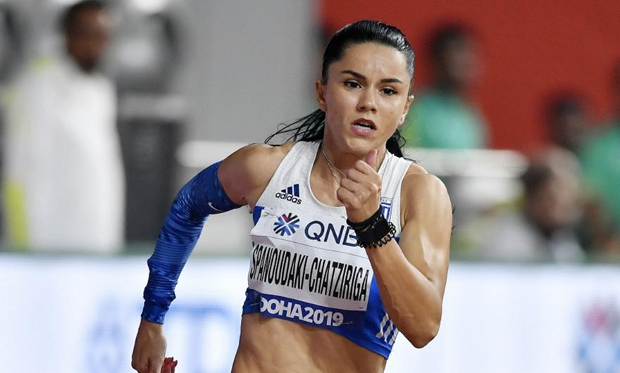 Σπανουδάκη: Προκρίθηκε στα ημιτελικά των 200μ.