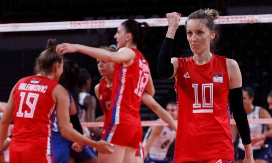 Ολυμπιακοί Αγώνες: Στους «4» η Σερβία στο βόλεϊ γυναικών