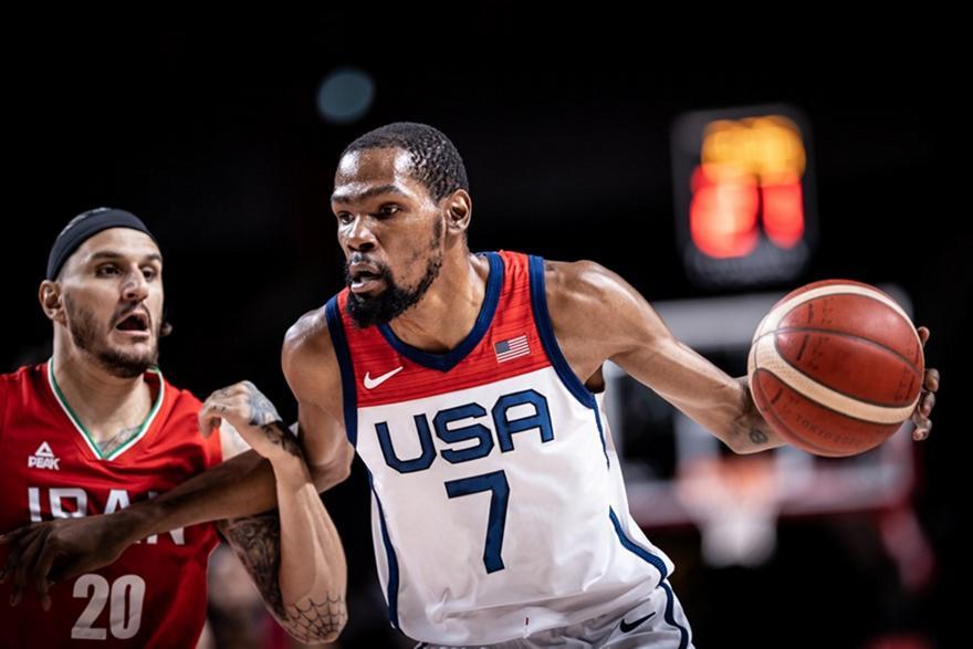 Ντουράντ: MVP στους Ολυμπιακούς Αγώνες