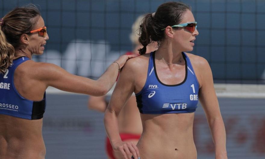 Beach Volley: Πρεμιέρα με ήττα για Αρβανίτη-Καραγκούνη