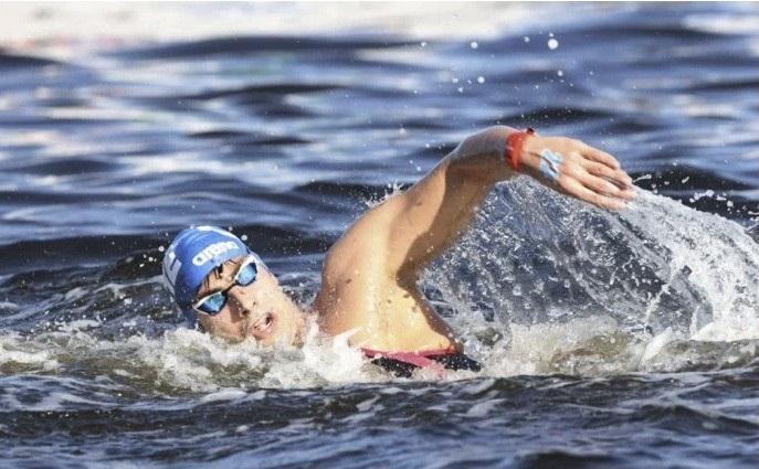 Πέμπτος στο Κύπελλο Μαραθώνιας κολύμβησης ο Κυνηγάκης