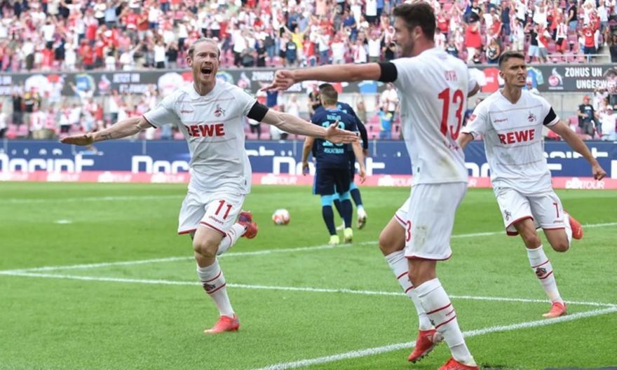 Κολωνία-Χέρτα Βερολίνου 3-1