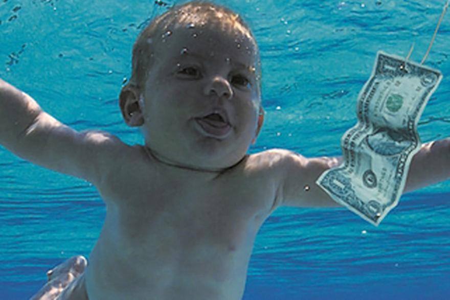 Nirvana: Μήνυση για το εξώφυλλο του Nevermind