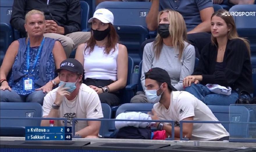 US Open: Είδαν Σάκκαρη η Μαρέβα με την Κανελλοπούλου