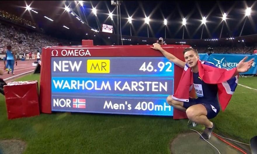 Βάρχολμ: Δεν βρίσκει κίνητρο μετά το παγκόσμιο ρεκόρ