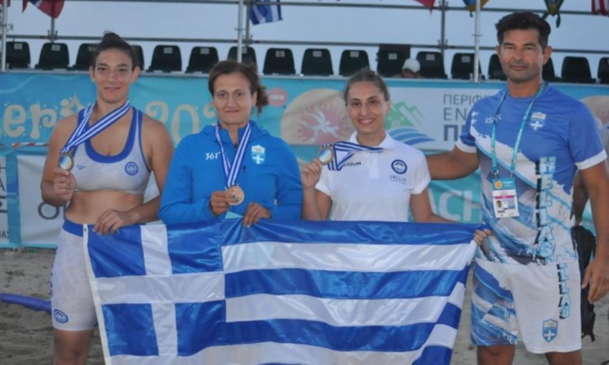 Τρία μετάλλια για την Ελλάδα στο Παγκόσμιο πρωτάθλημα Πάλης