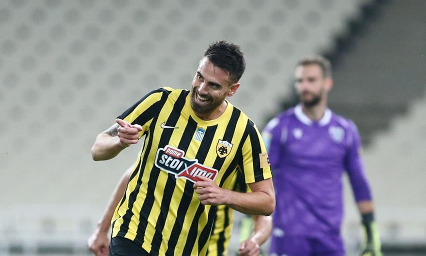 Λε Ταλέκ: «Χαρούμενος για τη νίκη και το πρώτο γκολ με ΑΕΚ»