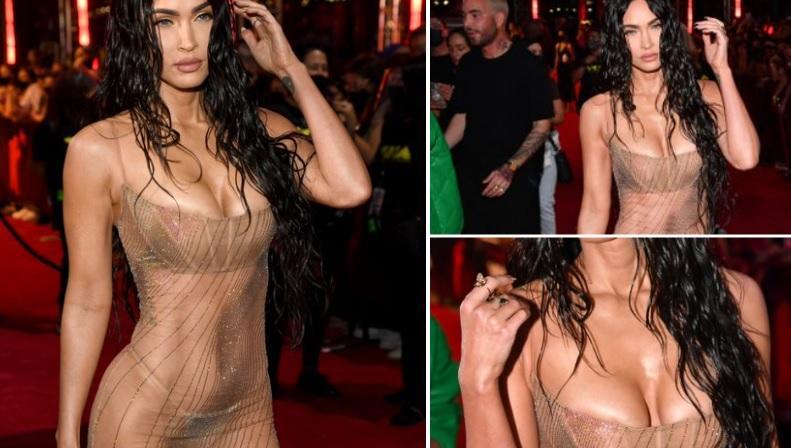 Μέγκαν Φοξ: Εμφανίστηκε σχεδόν γυμνή στα VMAs