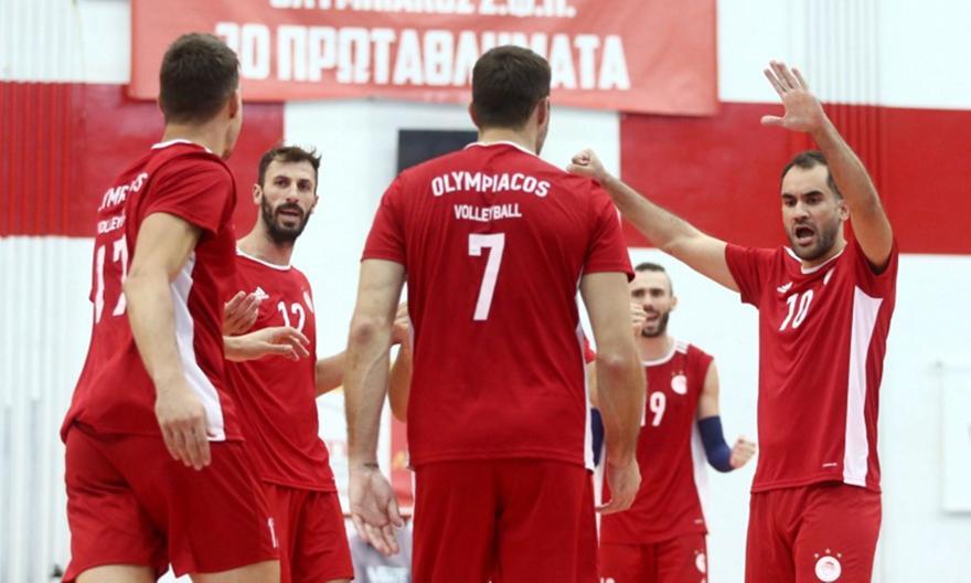 Ολυμπιακός-Κηφισιά 2-2 σετ