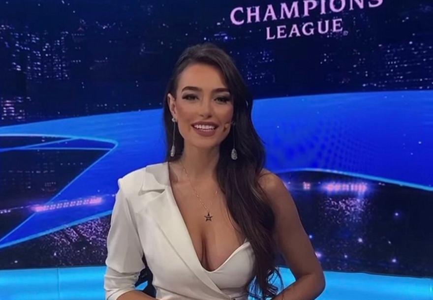 Εύα Μουράτι: Η Αλβανίδα που ομορφαίνει το Champions League