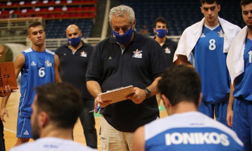 Το πρόγραμμα του Ιωνικού στο FIBA Europe Cup