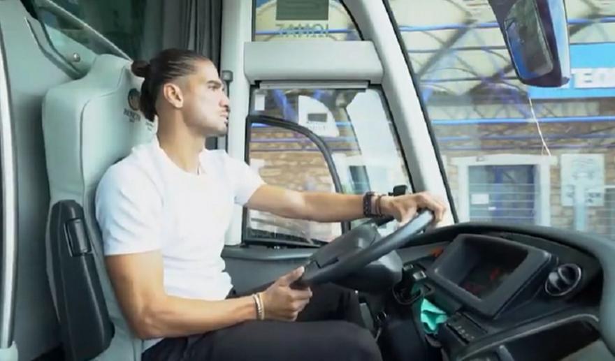 Απόλλων: Επικό βίντεο με Λισγάρα οδηγό του πούλμαν