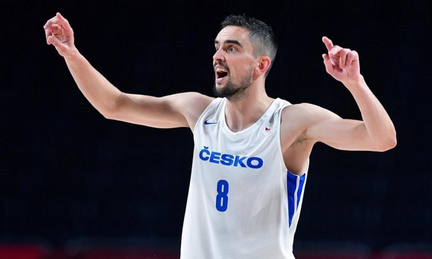 Σατοράνσκι: Κορυφαίος μπασκετμπολίστας της Τσεχίας
