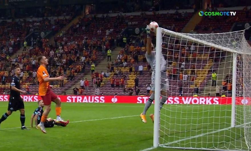 Γαλατάσαραϊ-Λάτσιο: Απίθανο αυτογκόλ για το 1-0!