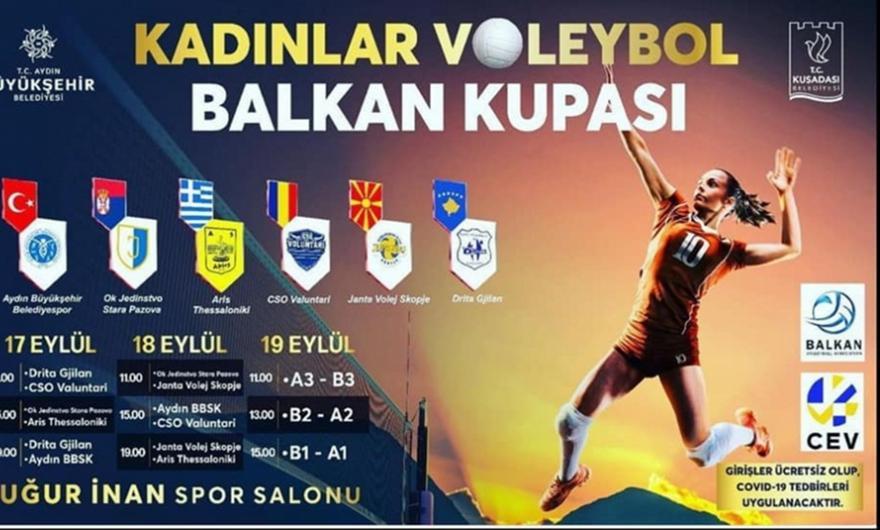 Έτοιμος για το Βαλκανικό Κύπελλο βόλεϊ γυναικών ο Άρης