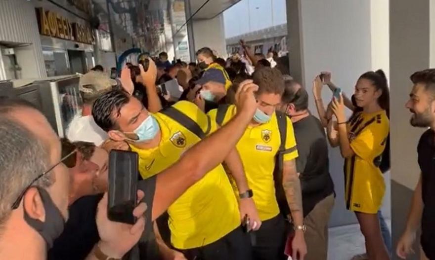 ΑΕΚ: Θερμή υποδοχή στο Ηράκλειο