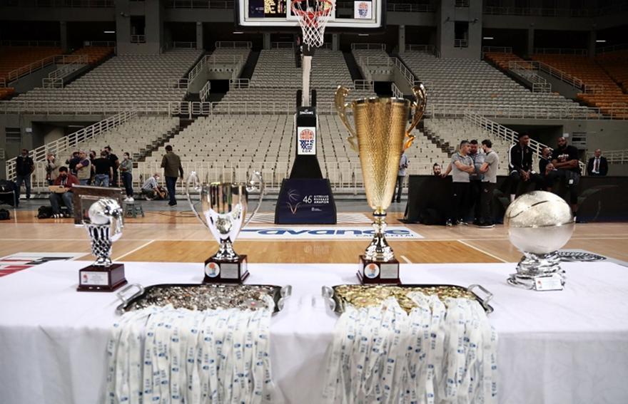 Κύπελλο Ανδρών: Μπαίνουν οι πρώτες ομάδες της Α1