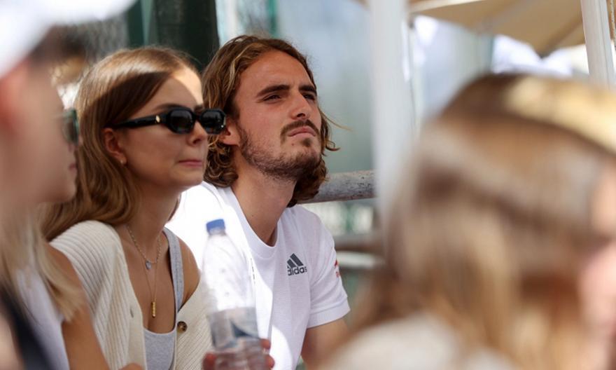 Τσιτσιπάς: Βλέπει με την κοπέλα του το Davis Cup