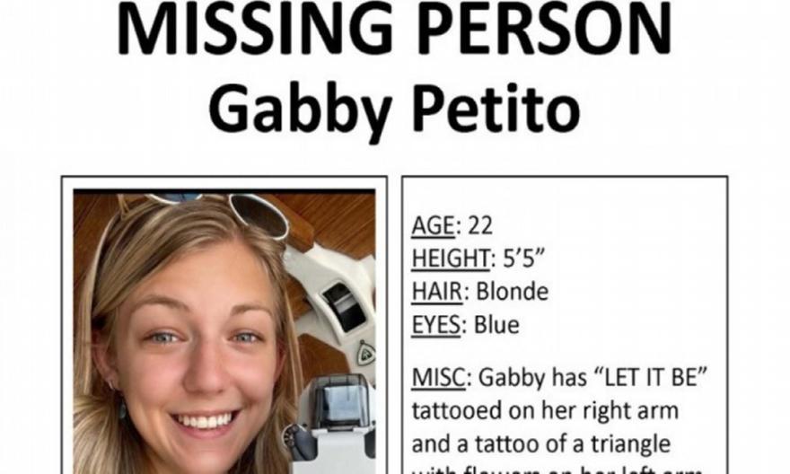ΗΠΑ: Εξαφανίστηκε και ο αρραβωνιαστικός της 22χρονης Γκάμπι