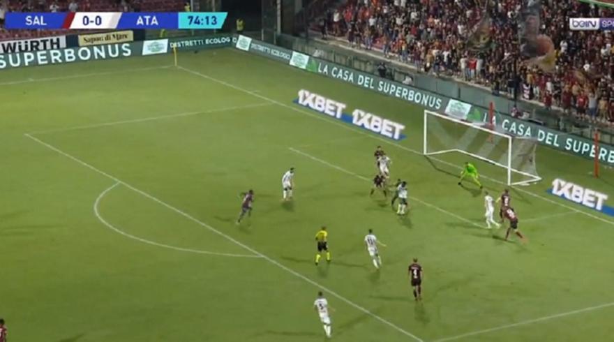 Σαλερνιτάνα-Αταλάντα: 0-1 με Ζαπάτα