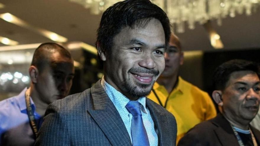 Υποψήφιος για την προεδρία στις Φιλιππίνες ο Μάνι Πακιάο