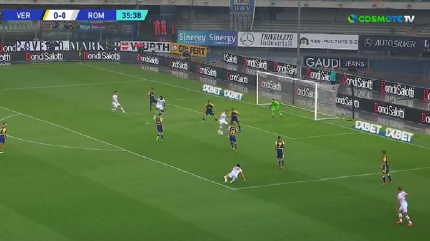 Βερόνα-Ρόμα: 0-1 με μαγικό τακουνάκι του Πελεγκρίνι