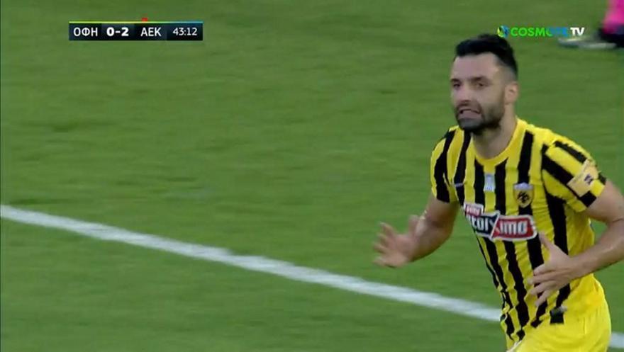«Άγγιξε» το 3-0 η ΑΕΚ με τον Τζαβέλλα