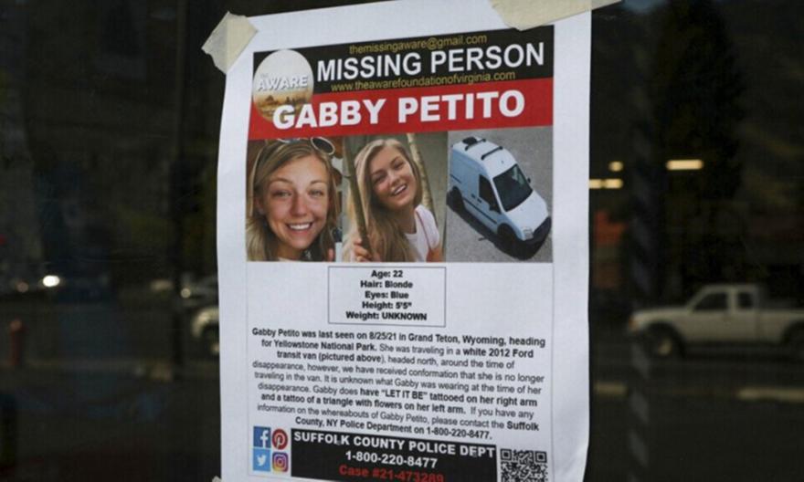 ΗΠΑ: Βρέθηκε πτώμα που ταιριάζει στην Γκάμπι Πετίτο
