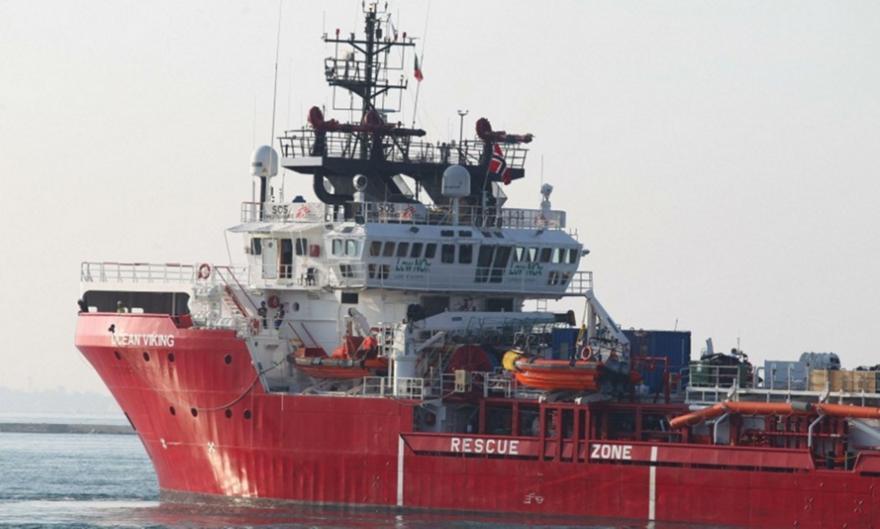 Το Ocean Viking διέσωσε 129 μετανάστες στη Μεσόγειο το ΣΚ