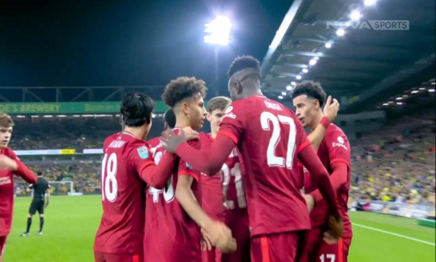 Νόριτς-Λίβερπουλ 0-3: Τα highlights του αγώνα