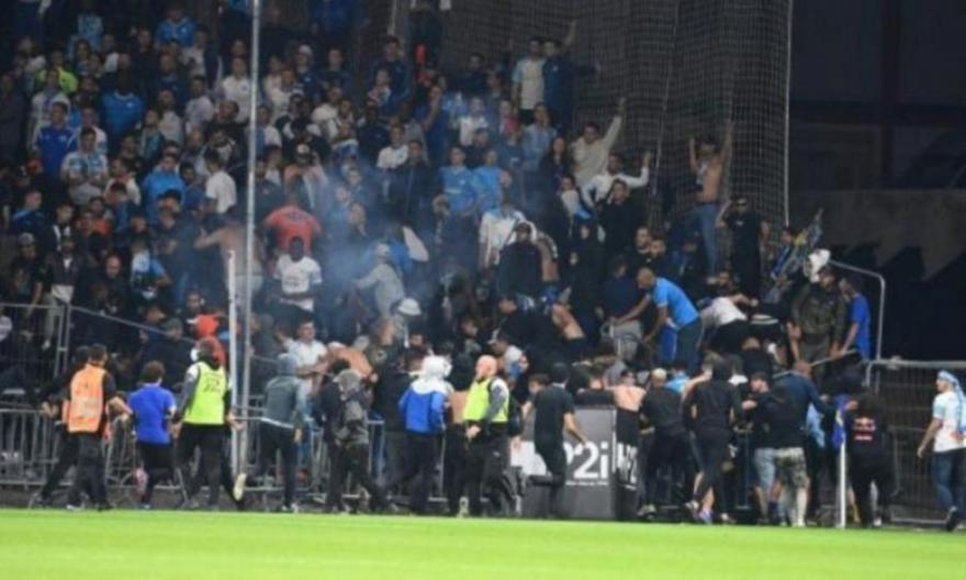 Επεισόδια και στο Ανζέ-Μαρσέιγ στη Ligue 1