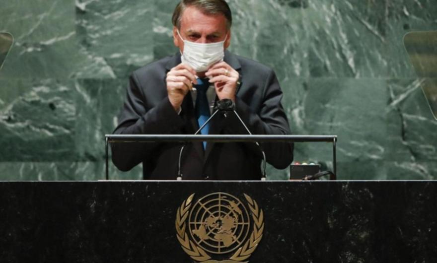 Σε καραντίνα ο Μπολσονάρου και όλη η αντιπροσωπεία στον ΟΗΕ