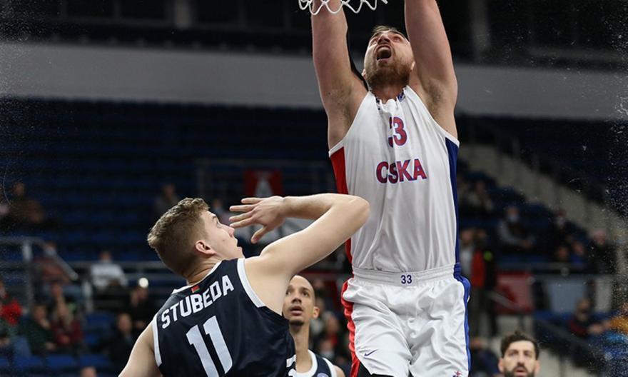 Τσμόκι Μινσκ-ΤΣΣΚΑ Μόσχας 44-92