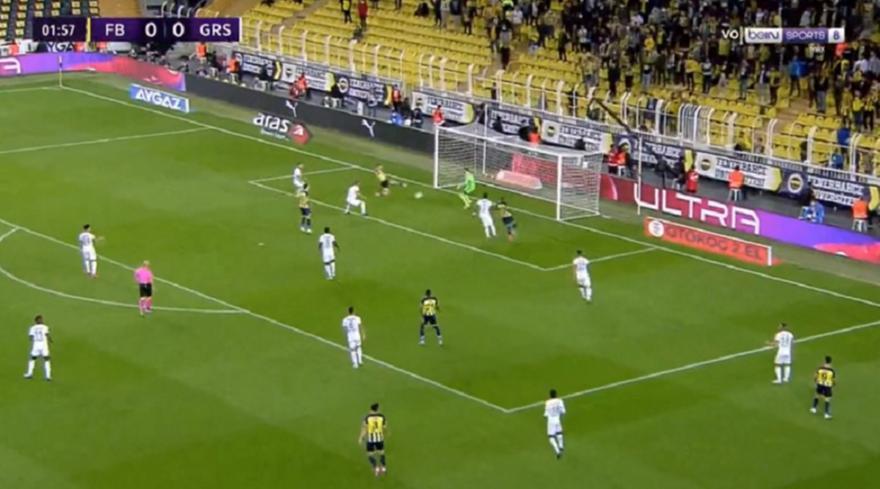 Φενέρμπαχτσε: Ωραία ομαδική προσπάθεια και 1-0 στο 2'