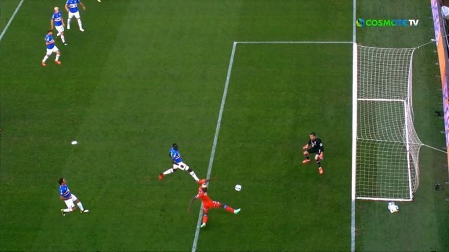 Σαμπντόρια-Νάπολι: Το γκολ του Οσιμέν