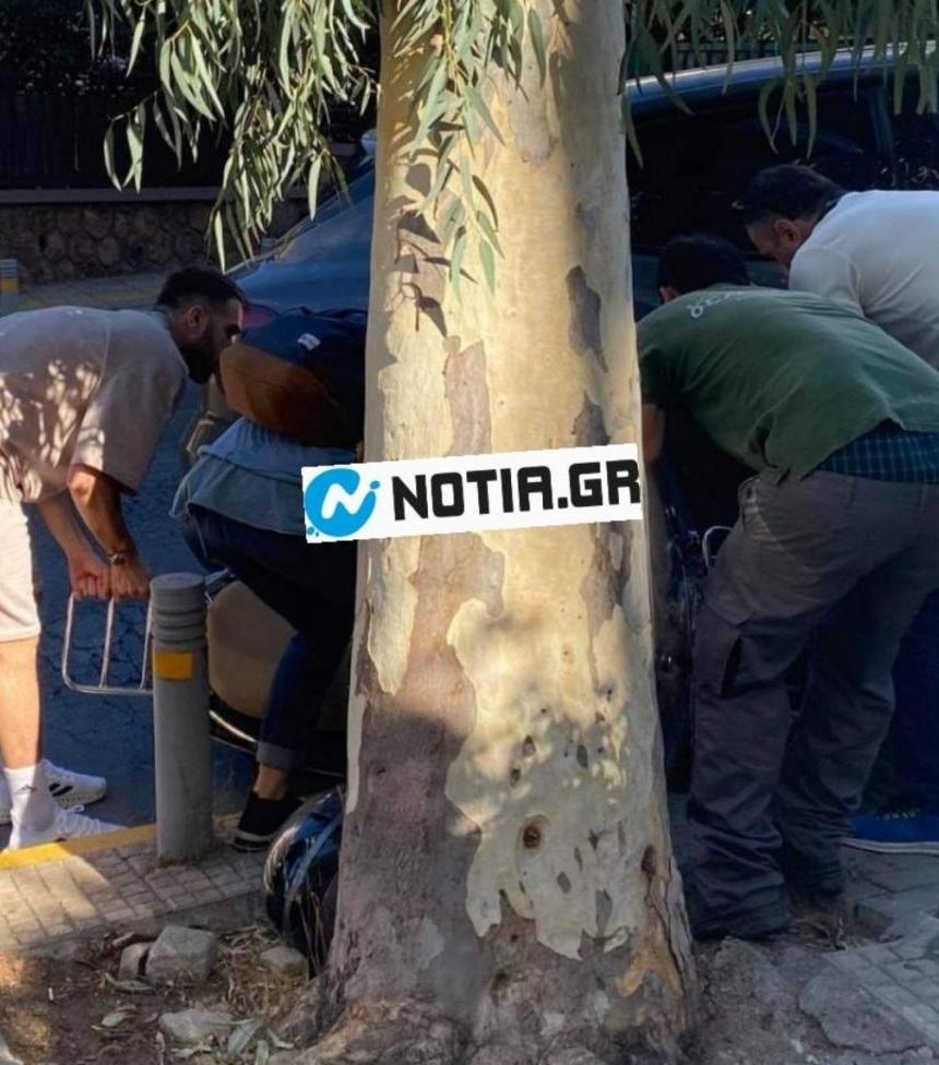 Φορτούνης: Τράκαρε με μηχανή