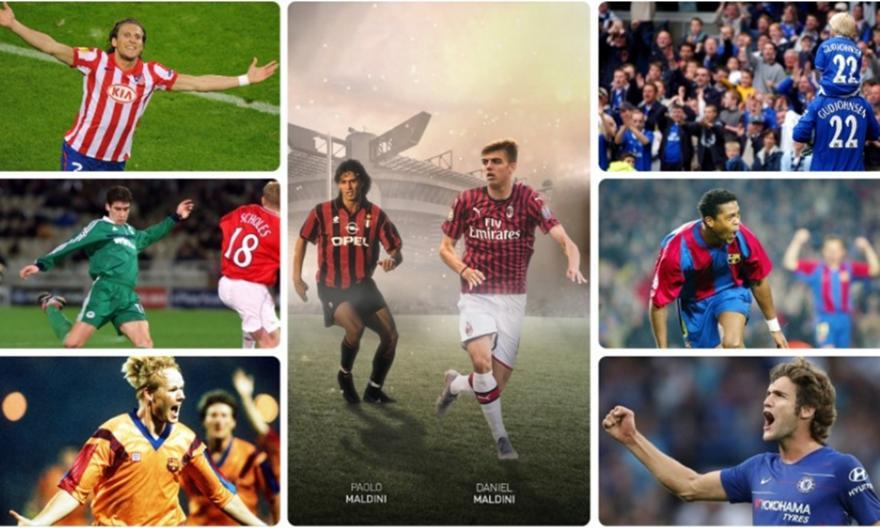 Τρεις γενιές ποδοσφαιριστών: Οι 5+1 οικογένειες