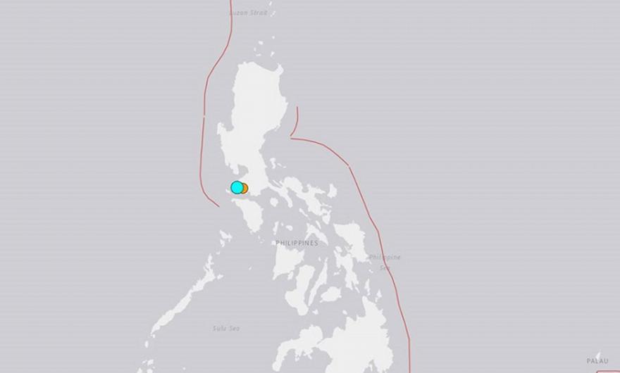 Φιλιππίνες: Σεισμός 5,7 Ρίχτερ