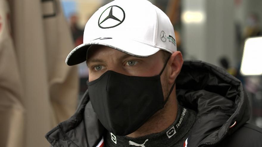 Κίνηση τακτικής από Mercedes: Ξεκινά 17ος ο Μπότας