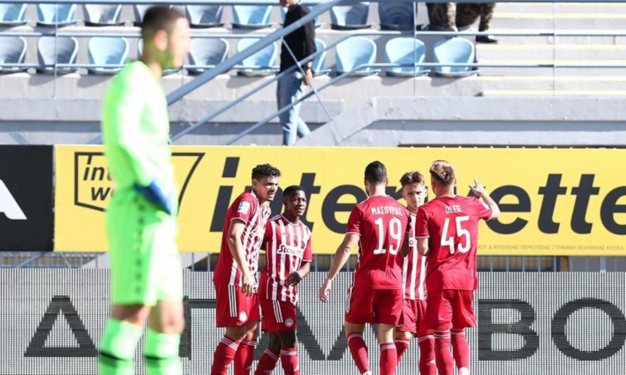 Αστέρας Τρίπολης-Ολυμπιακός: Τα highlights του ματς