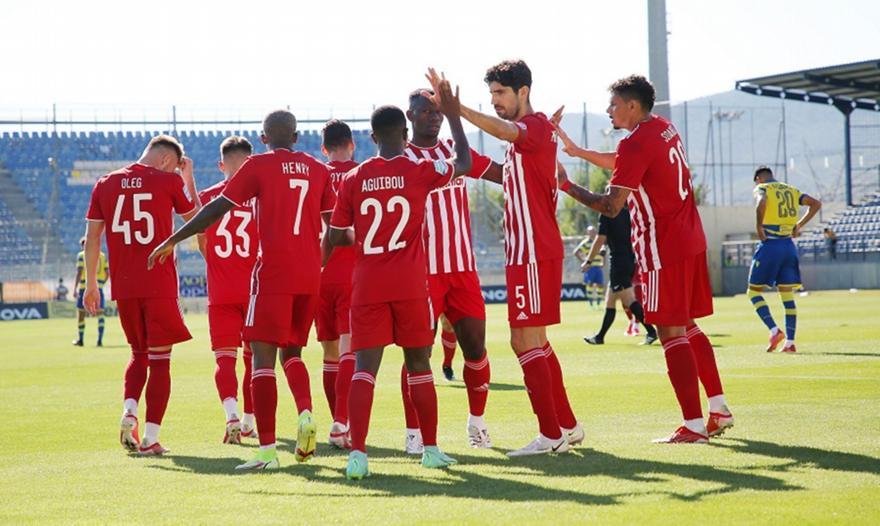 Αστέρας Τρίπολης-Ολυμπιακός 0-2