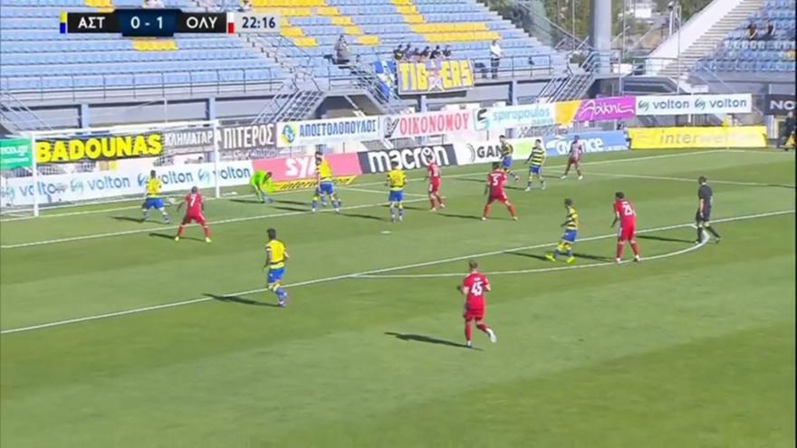 Αστέρας-Ολυμπιακός: 0-2 με τραγικό λάθος Παπαδόπουλου