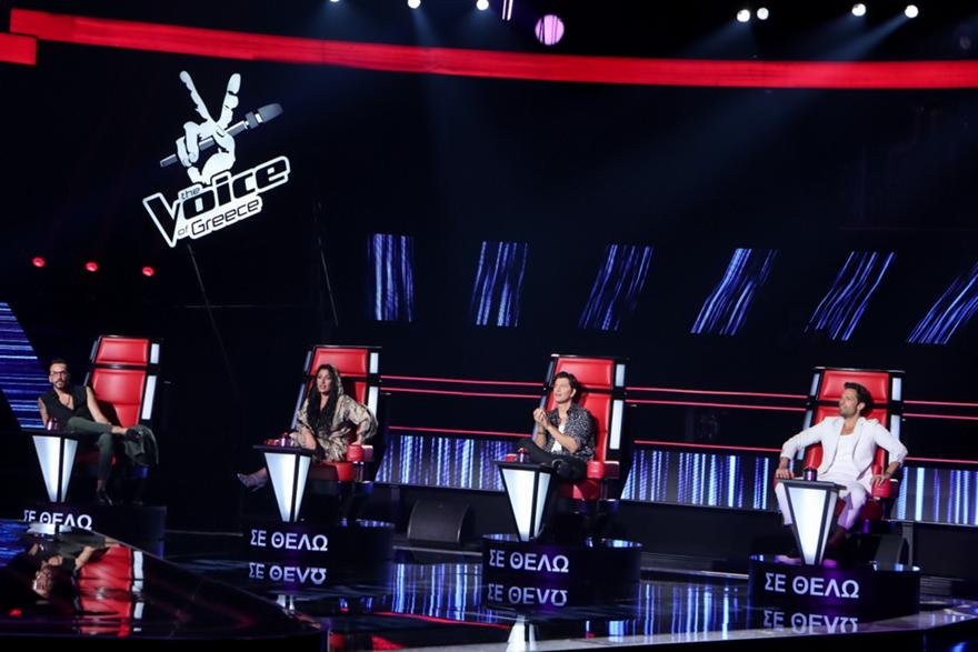 Voice: Σταθερά στην κορυφή οι blind auditions
