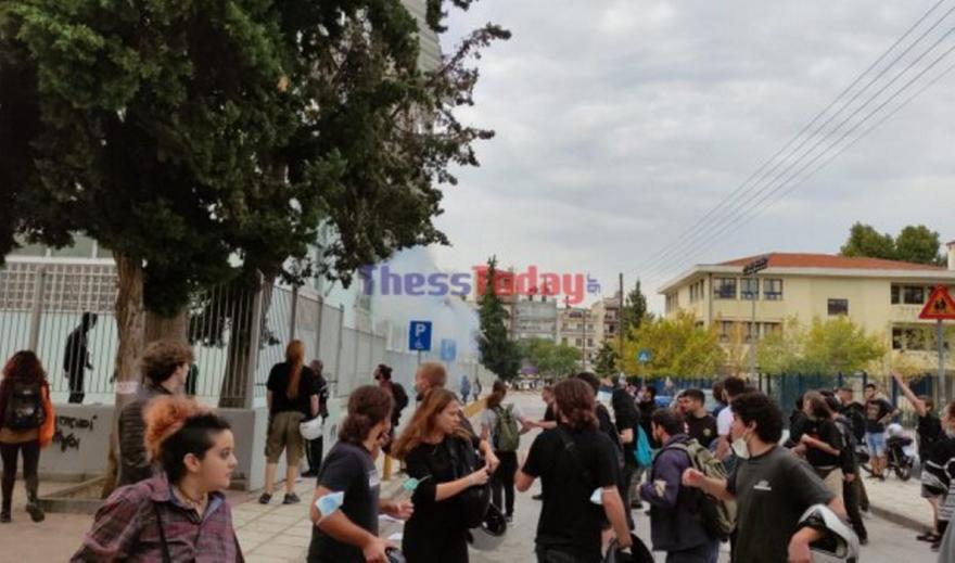 Επεισόδια και τραυματίες στο 1ο-2ο ΕΠΑΛ Σταυρούπολης